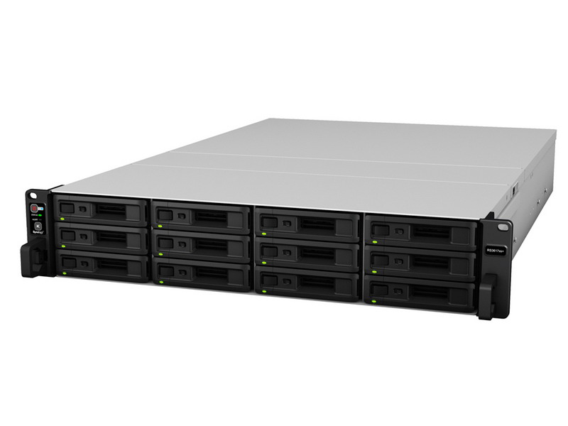 Synology RackStation RS3617xs+ 12 bays